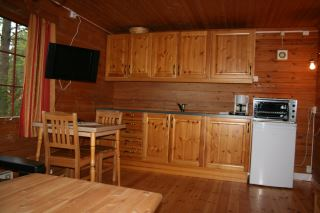 Høystandard hytte ved Namsos Camping