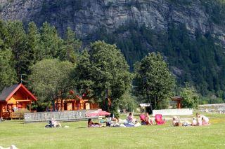 Namsos camping - strandområde