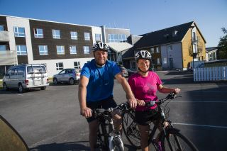 Ta en sykkeltur fra Rørvik