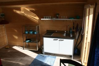 Holm camping - hyttene