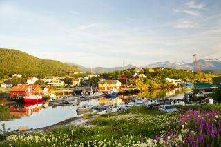 Heimsjyen ligger i kommunesenteret Inndyr