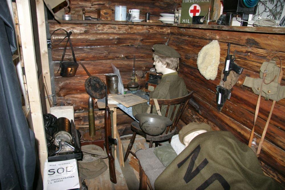 Nevernes Havn - krigsmuseet