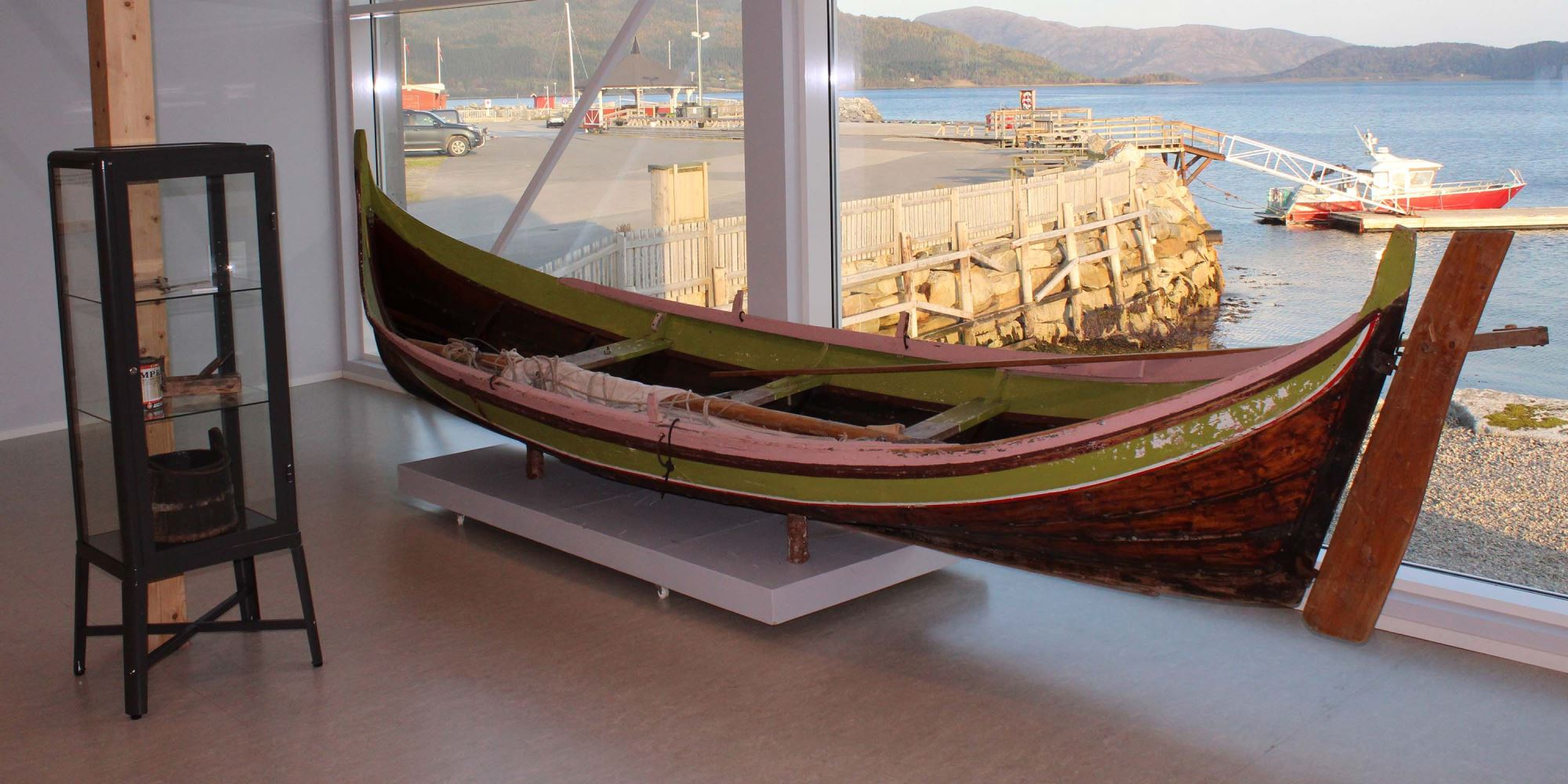 Bindalsfæring - traditional boat from Bindal