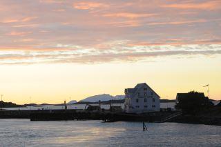Solnedgang på Vennesund