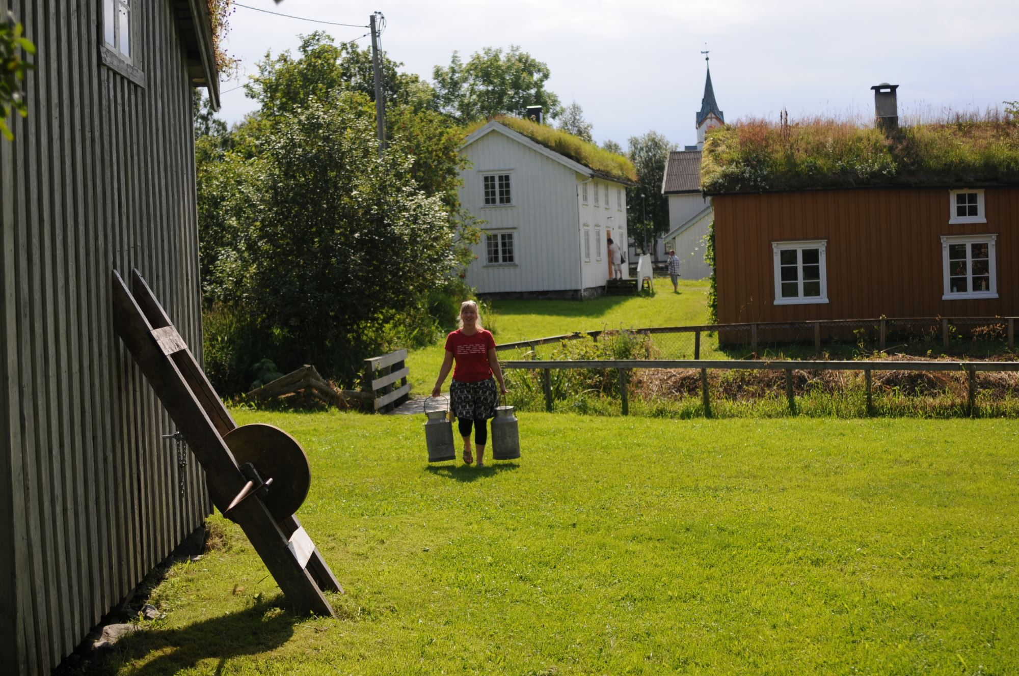Sømna bygdetun (rural museum)