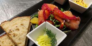 Aurora restaurnat serverer god mat med lokale råvarer