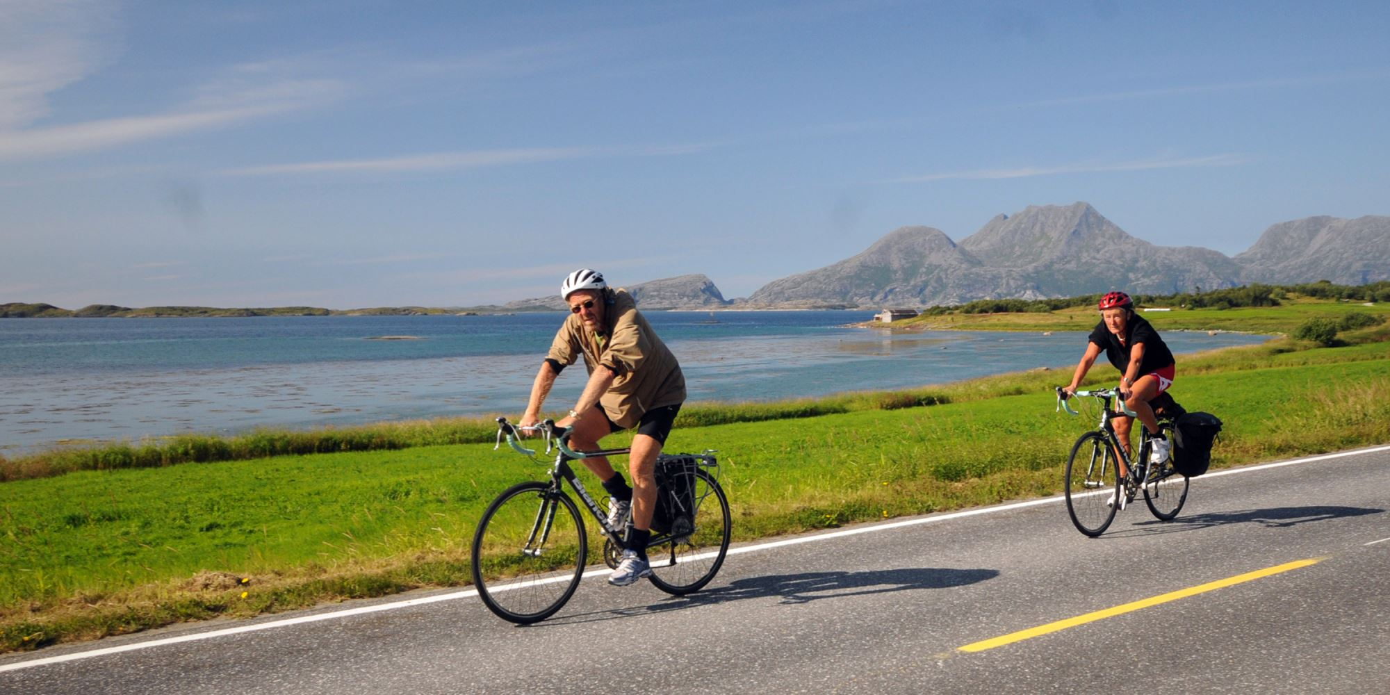 Du kan leie sykkel på Havblikk camping