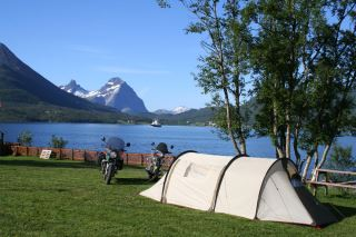 Teltplass ved Furøy Camping