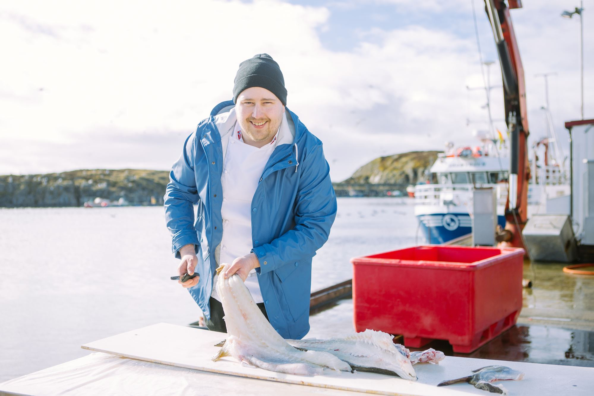 The cod fish festival in Rørvik