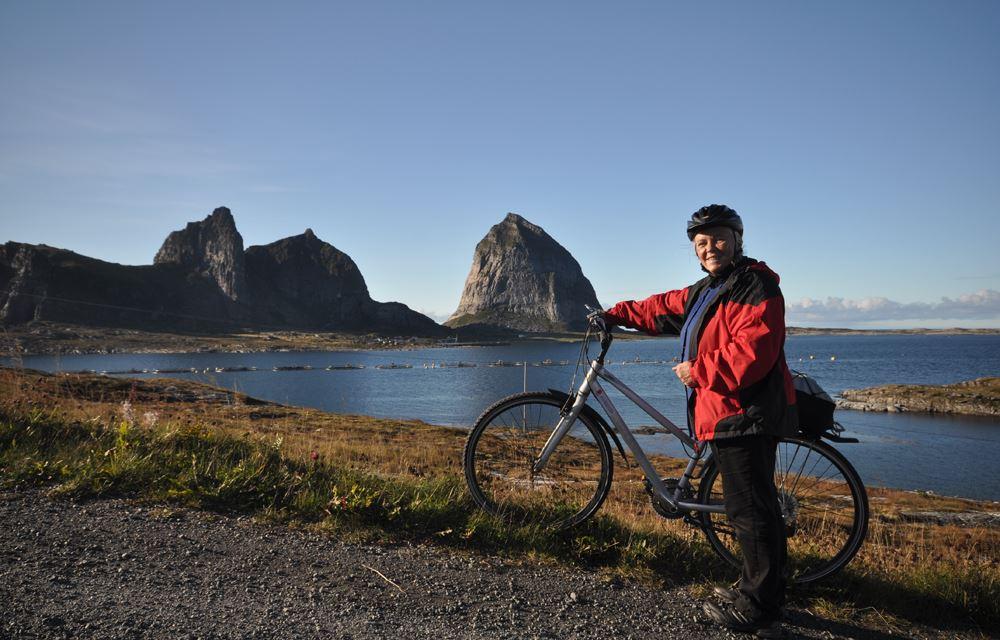 Sykkel ferie på Træna