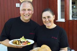 3 Kalver - restaurant/gårdskafé på Dønna