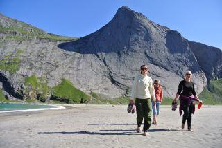 Bunes beach, Moskenes, Lofoten