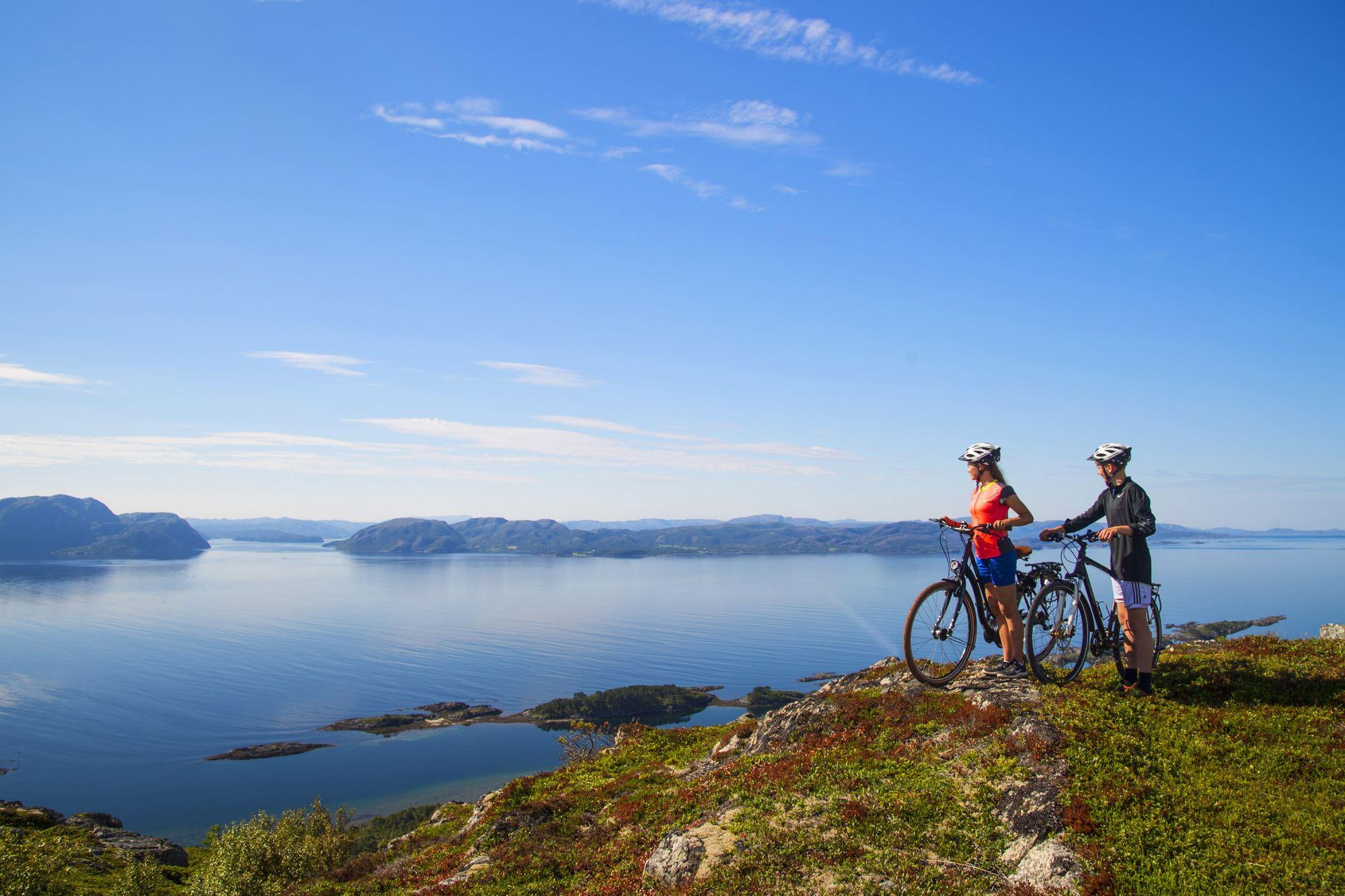 Halvdagstur med sykkel Rørvik - Abelvær