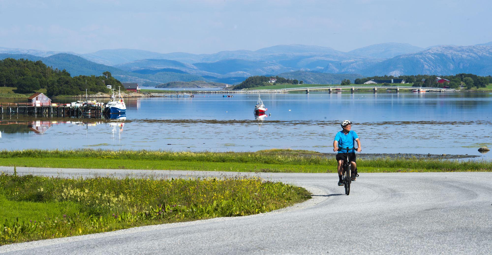 Sykkeltur Kolvereid - Abelvær - Rørvik